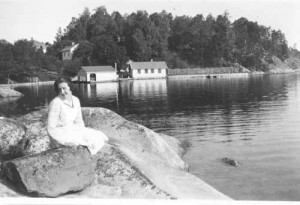 Husan Alva på ngbåtsbryggan